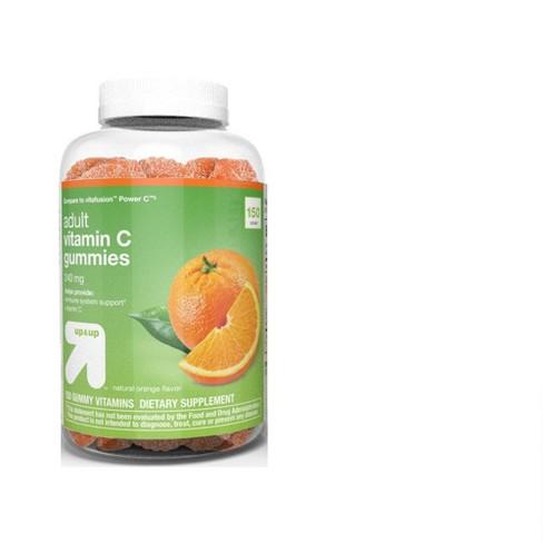 Vitamin C Gummies - Orange - 150ct - Up&Up™ - image 1 of 4