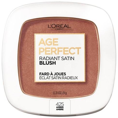 L'Oreal Paris Age Perfect Radiant Satin Blush - 0.31oz - image 1 of 4