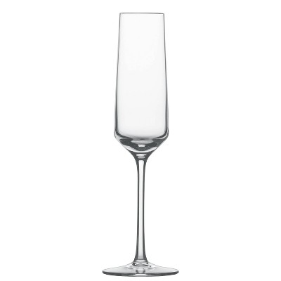 Schott Zwiesel 7.1oz 6pk Crystal Pure Champagne Flute Glasses
