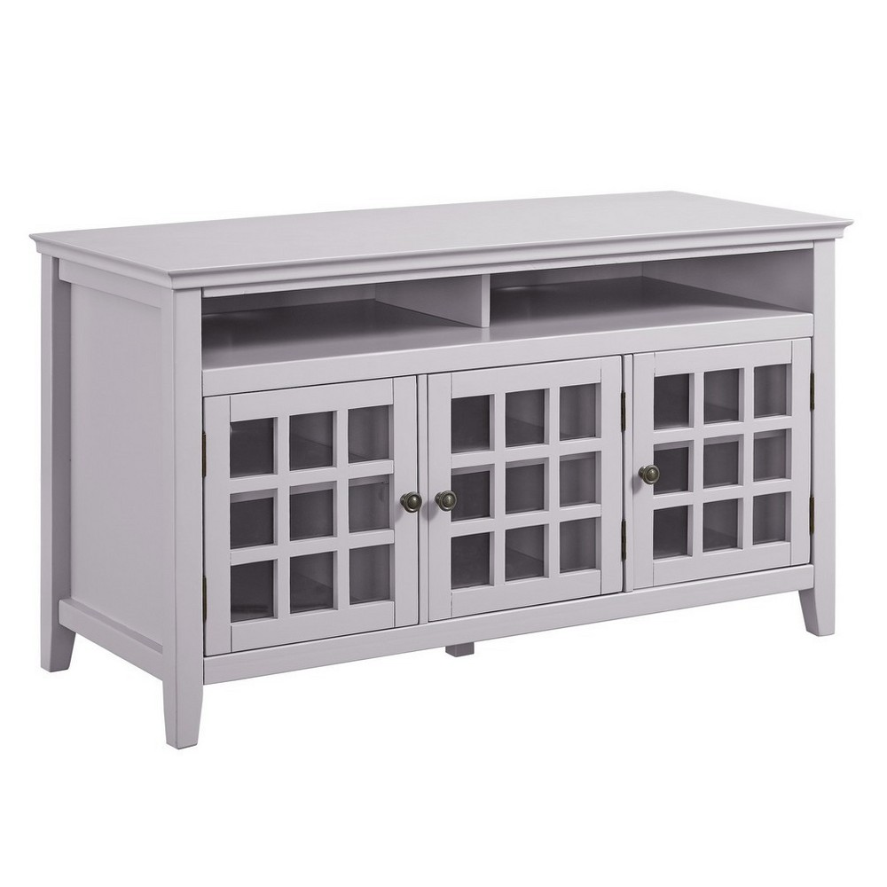 Largo Media Cabinet Gray - Linon