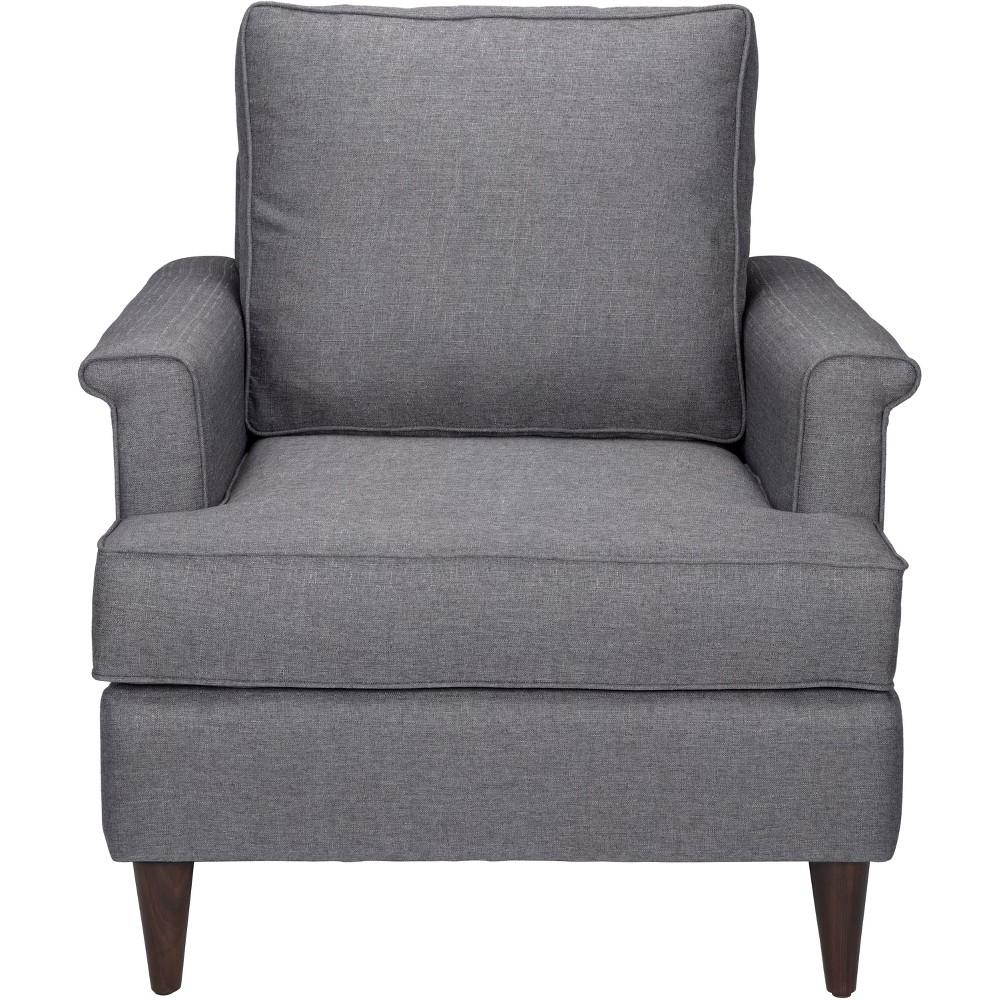 Mid Century Tailored Arm Chair Dark Gray - ZM Home