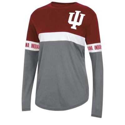 NCAA Indiana Hoosiers Women's Long Sleeve T-Shirt