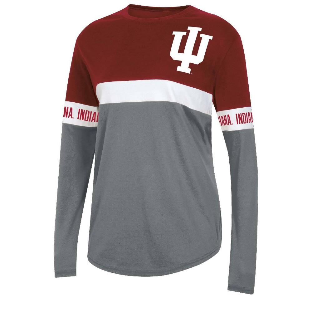 Ncaa Indiana Hoosiers Women 39 S Long Sleeve T Shirt S