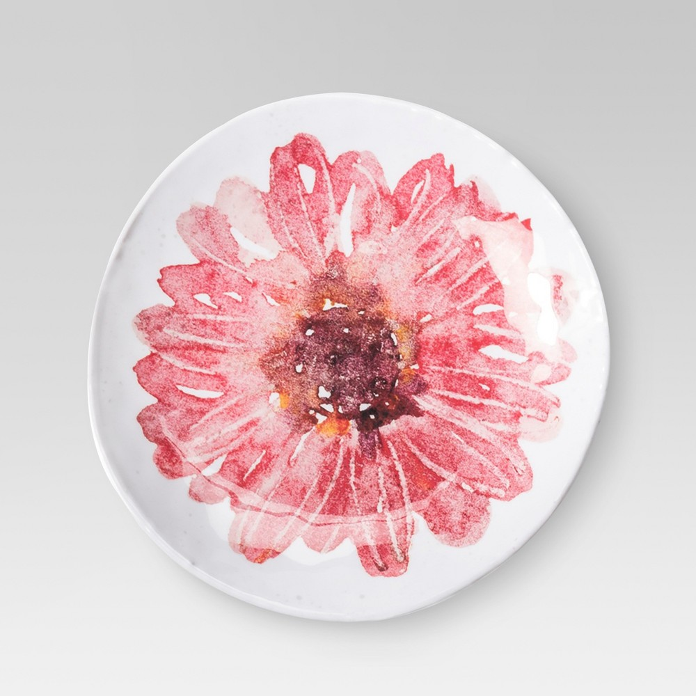 Plastic Assorted Floral Appetizer Plate 6.8 (Patterns Vary) - Threshold, Multi-Colored