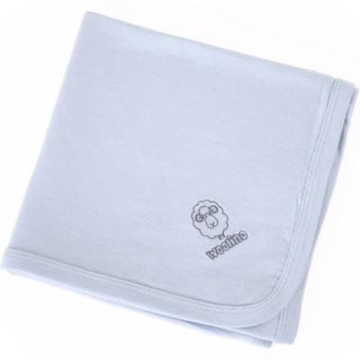 Woolino Merino Wool Swaddle Blanket - Blue