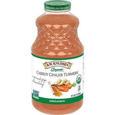 RW Knudsen Carrot Ginger Turmeric Juice - 32 fl oz Bottle