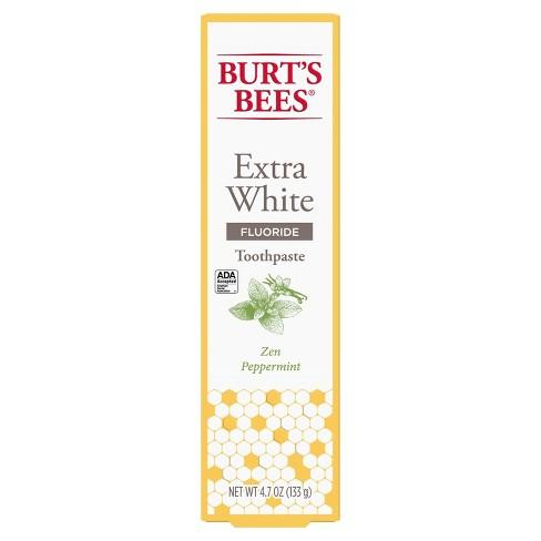 Burt's Bees Zen Peppermint Whitening Fluoride Toothpaste - 4.7oz - image 1 of 4
