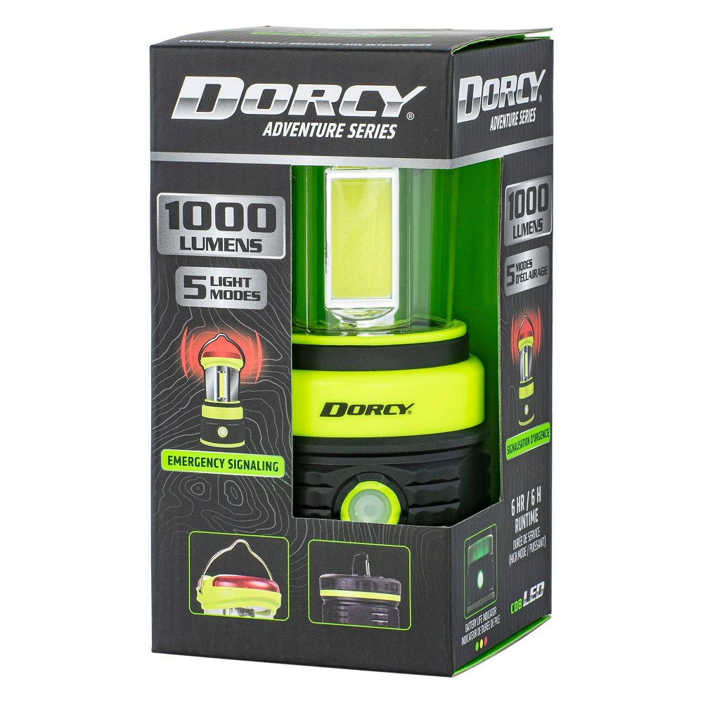 Life Gear Dorcy 3d Area And Battery Operated Safety Led Lantern Black Green