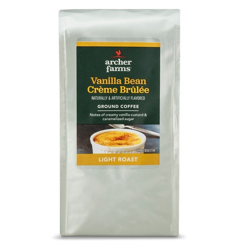 Vanilla Bean Crème Brulée Light Roast Ground Coffee - 12oz - Archer Farms™ - image 1 of 3