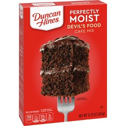 Duncan Hines Devils Food Cake Mix - 16.5oz