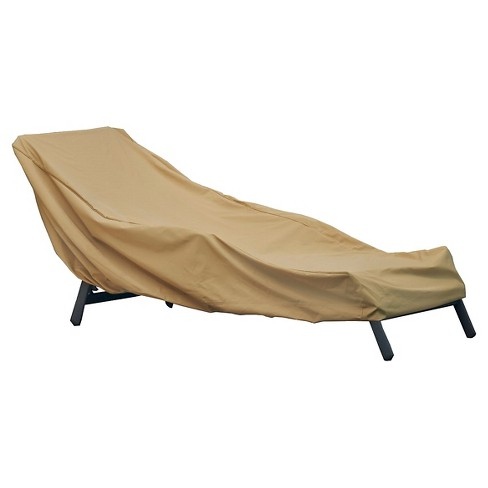 Chaise Lounge Cover - Sand - Seasons Sentry® - image 1 of 6