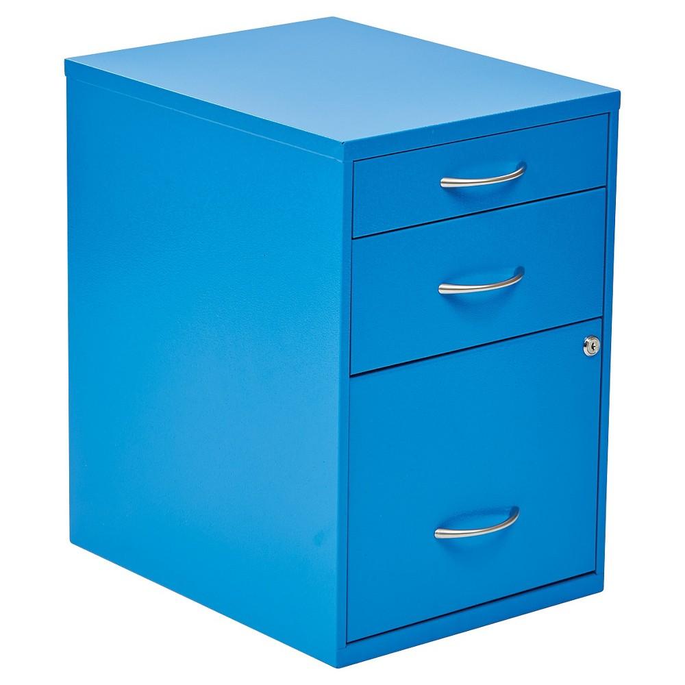 Osp Designs Storage File Cabinet - Blue