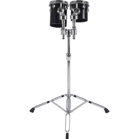 """Ddrum Deccabons, Black 6 in. and 8 in. Black 6"""" & 8"""" - image 1 of 2"""