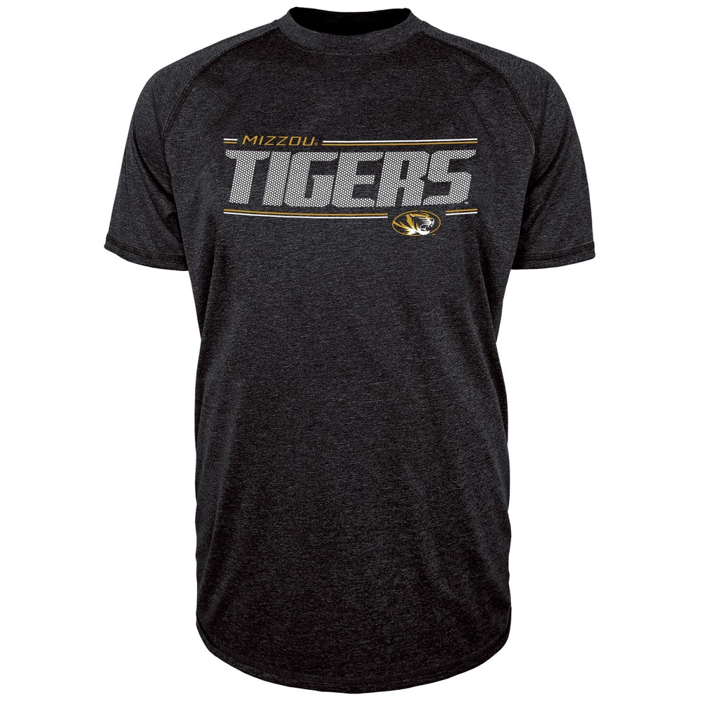 Missouri Tigers Men's Team Speed Poly Performance T-Shirt XL, Multicolored