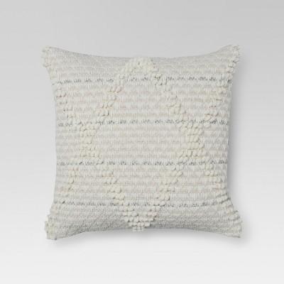 Hand Woven Cotton Jute Throw Pillow (18 )- Threshold™