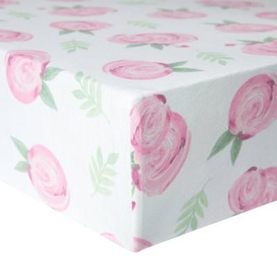 Copper Pearl Premium Crib Sheet - Grace