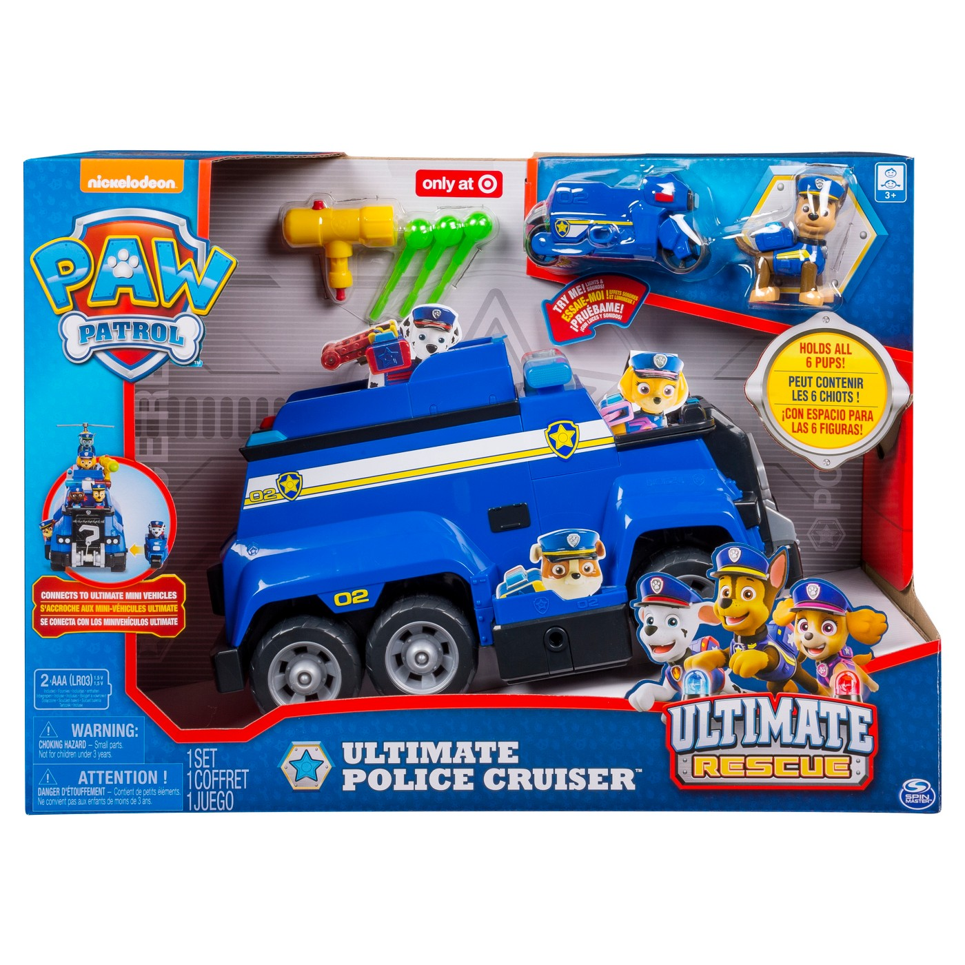 PAW Patrol Police Rescue Deluxe Chase Ultimate Cruiser - image 2 of 8