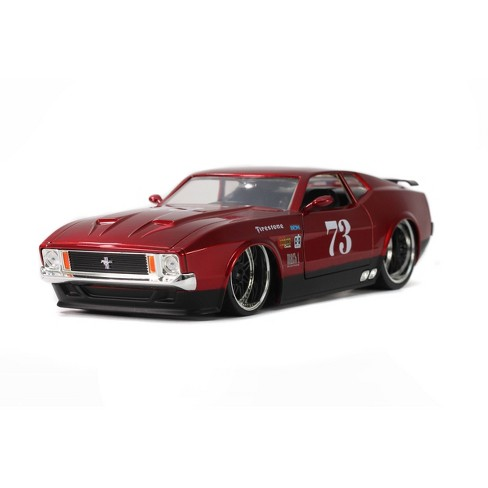 Jada Toys Big Time Muscle 1973 Ford Mustang Mach 1 Die-Cast Vehicle 1:24 Scale - Red - image 1 of 4