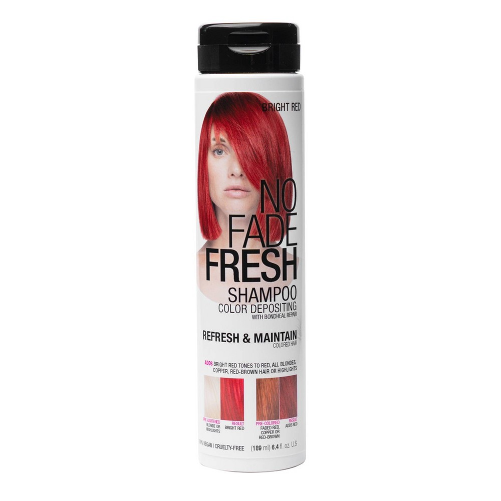 Image of No Fade Fresh Color Depositing Shampoo - Red