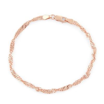 Tiara Sterling Silver Disco Chain Bracelet