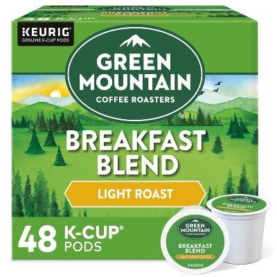 Green Mountain Coffee Breakfast Blend Keurig K-Cup Coffee Pods - Light Roast - 48ct