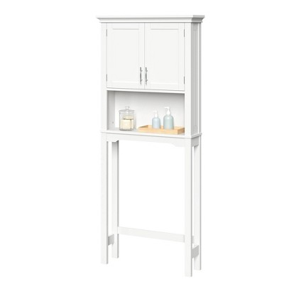 Somerset Over the Toilet Etagere White - RiverRidge Home