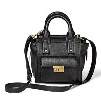 Mini Satchel Handbag - 3.1 Phillip Lim for Target Black