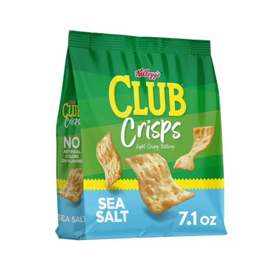 Club Crisps Sea Salt - 7.1oz