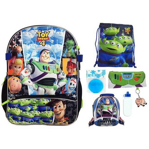"Disney Toy Story 16"" Kids' Backpack - 7pc Set - image 1 of 4"