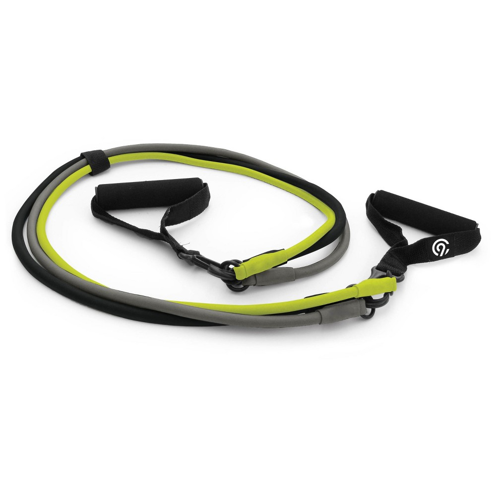 C9 Champion Interchangeable Exercise Resistance Band 3pk (Light, Medium & Heavy), Green