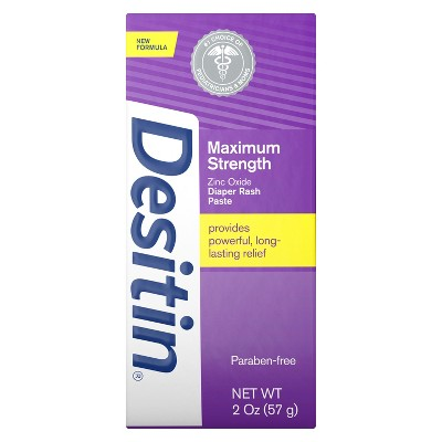Desitin Maximum Strength Original Paste Diaper Rash Ointment - 2oz