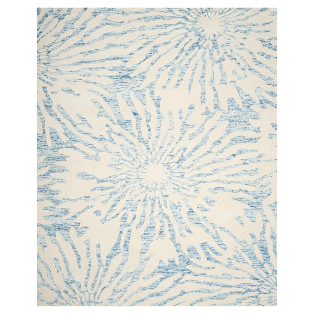 Bella Rug - Dark Blue/Ivory - (8'X10') - Safavieh