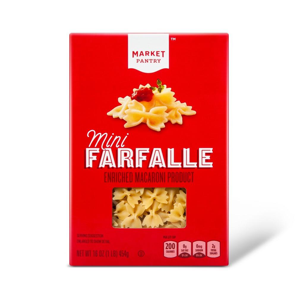 Mini Farfalle 16oz - Market Pantry