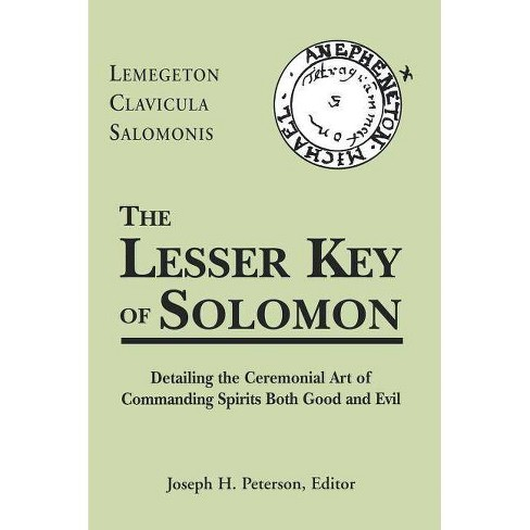 The Lesser Key of Solomon - (Hardcover) - image 1 of 1