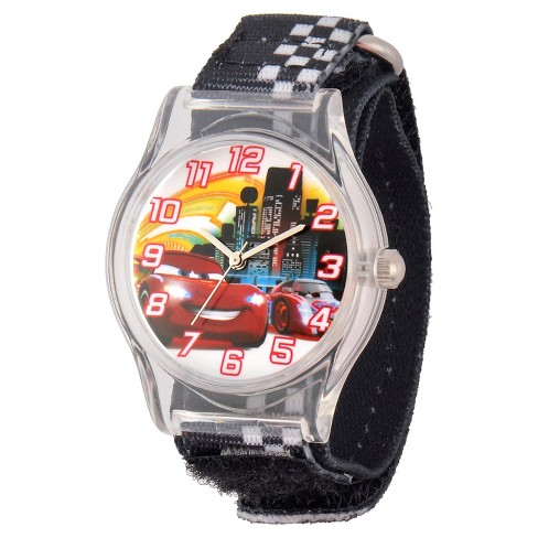Boys' Disney® Cars Watch - Black - image 1 of 2