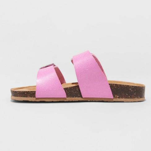 8b8d359be2b0 Girls  Mad Love Scarlett Footbed Sandals   Target
