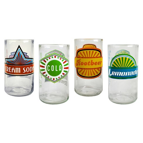 Artland Upkyle Fun in the Sun 12oz 4pk Highball Glasses - image 1 of 1