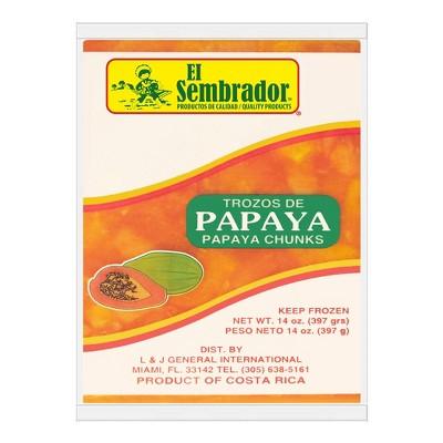 El Sembrador Frozen Pulp Papaya - 14oz