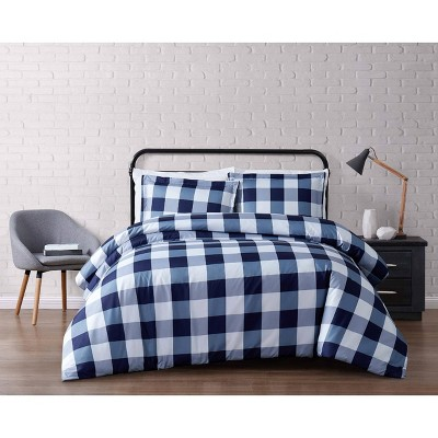 Truly Soft Everyday Buffalo Plaid Duvet Cover Set