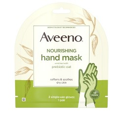 Aveeno Nourishing Hand Therapy Mask with Oat - 1 Pair