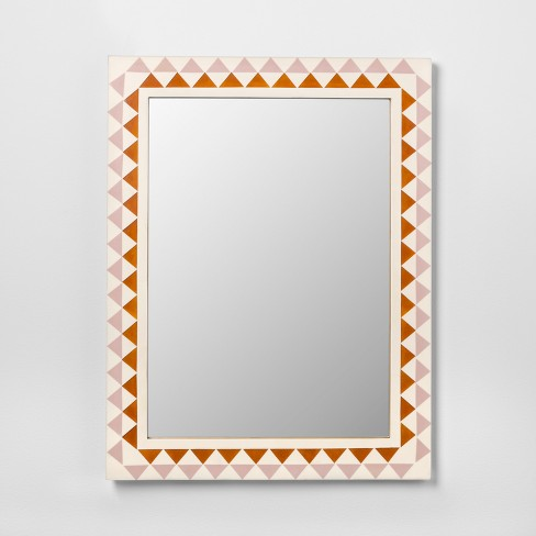 Pieced Triangle Frame Decorative Wall Mirror - Opalhouse™ : Target