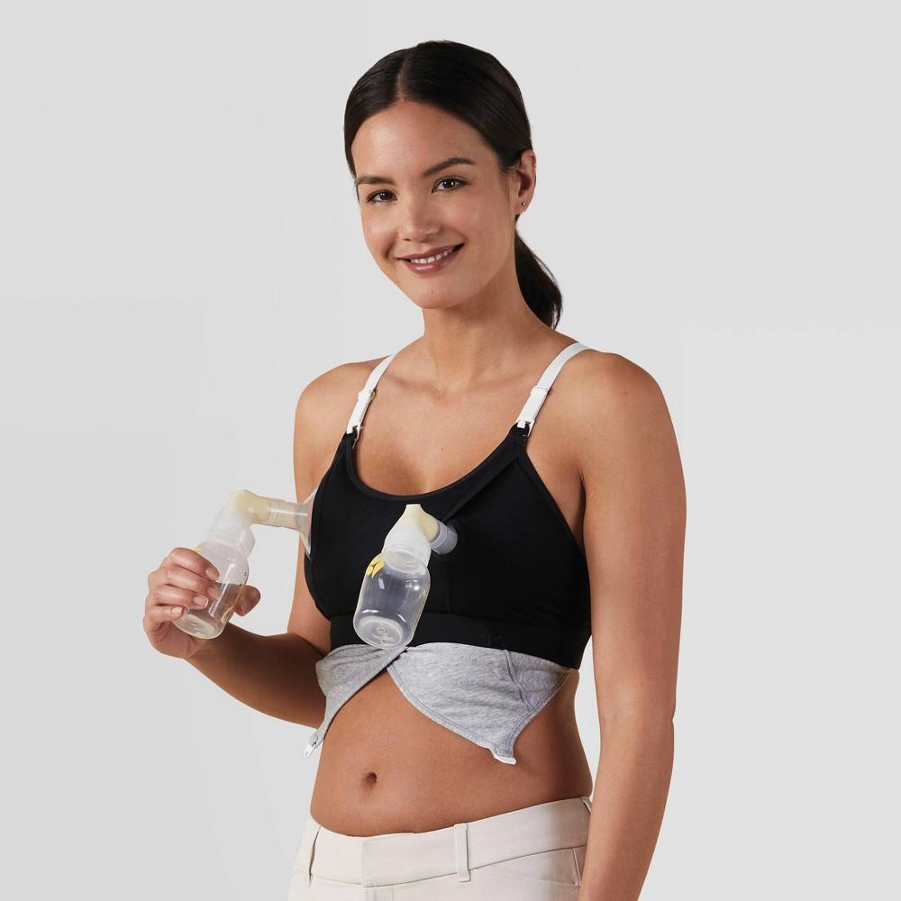 Bravado Designs Women 39 S Clip And Pump Hands Free Nursing Bra Accessory Black S