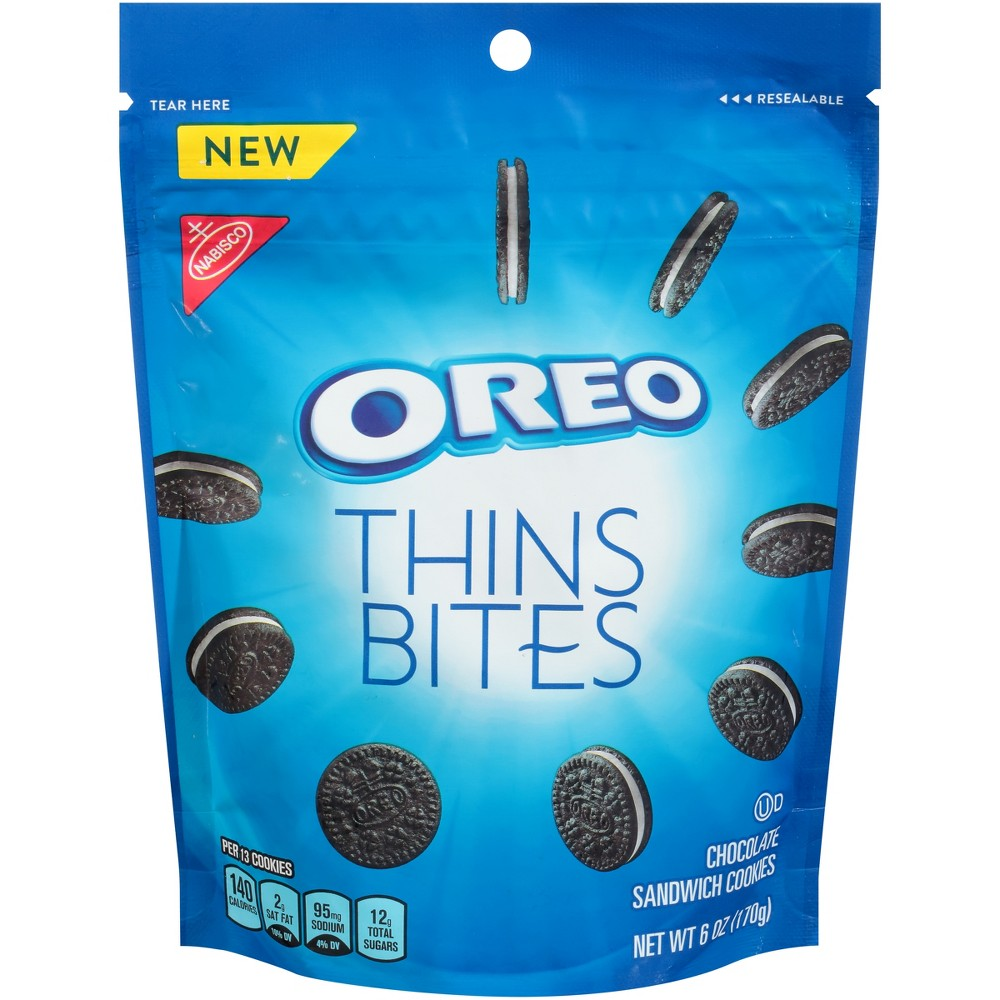 Oreo Thin Bites Chocolate Sandwich Cookies - 6oz