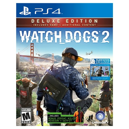 Watch Dogs 2 Deluxe Edition PlayStation 4 - image 1 of 5