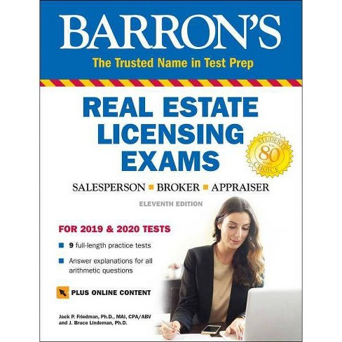 Real Estate Licensing Exams with Online Digital Flashcards - (Barron's Test Prep) 11 Edition (Paperback) - image 1 of 1