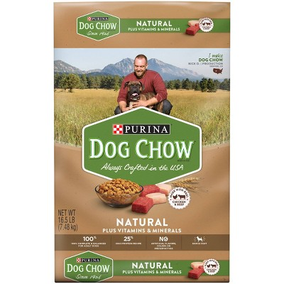 Dog Food: Purina Dog Chow Natural