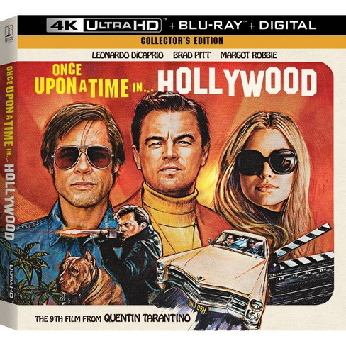 ONCE UPON A TIME IN HOLLYWOOD COLLECTORS ED (4K/BR/W-DIGITAL) (4K/UHD) - image 1 of 2