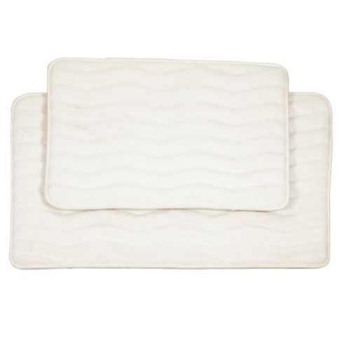 2pc Wave Bath Mat - Yorkshire Home - image 1 of 4