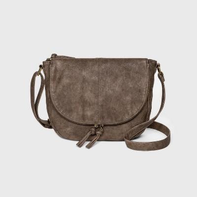 Bueno Zip Closure Shoulder Bag - Taupe