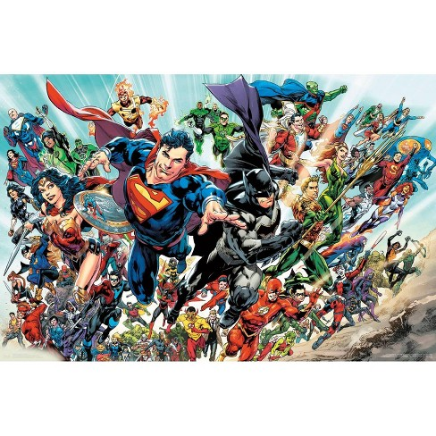 "34""x23"" DC Comics Rebirth Unframed Wall Poster Print - Trends International - image 1 of 2"